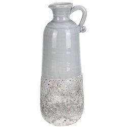 Ceramiczny wazon na sztuczne kwiaty, dekoracje, 8042-UNIW