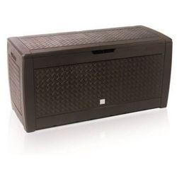 Skrzynia ogrodowa PROSPERPLAST Boxe Matuba 44OU Brązowy (5905197098487)