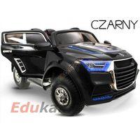Duży mocny jeep na akumulator 2x45w gumowe koła!+ gratis! marki Edukamp