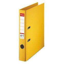 segregator z mechanizmem standard no. 1 power, a4 50mm, żółty marki Esselte