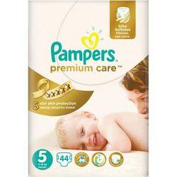 Pampers  pieluchy premium care vp 5 junior 44 szt/ darmowy transport dla zamówień od 99 zł, kategoria: piel