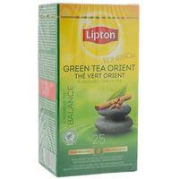 Herbata Lipton Green Tea Orient 25 kopert foliowych