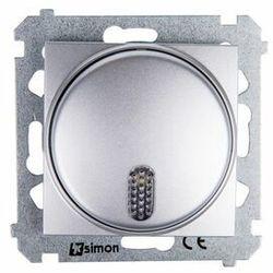 SIMON 54 Dzwonek elektroniczny (moduł) 8–12 V~; srebrny mat DDT1.01/43 WMDD-020xxK-043, DDT1.01/43