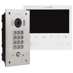 Wideodomofon cyfrowy z szyfratorem S1411D_M1023W (5907281206471)