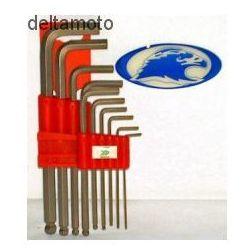 Zestaw kluczy imbusowych z kulką – 10 szt. marki Seneca
