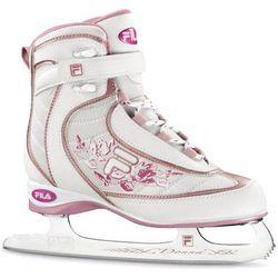 Łyżwy hokejowe FILA 2012 Donna 4 Różowy + DARMOWY TRANSPORT! z kategorii łyżwiarstwo