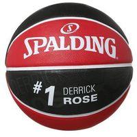 Spalding NBA PLAYER Piłka do koszykówki rot/schwarz