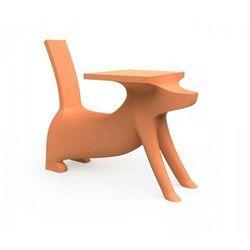 Magis me too Krzesełko ze stolikiem le chien savant pomarańczowe