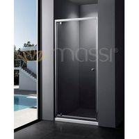 Massi  verre drzwi prysznicowe 80x185 cm przejrzyste mskp-fa406-80