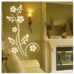 Kwiaty 1224 szablon malarski marki Deco-strefa – dekoracje w dobrym stylu