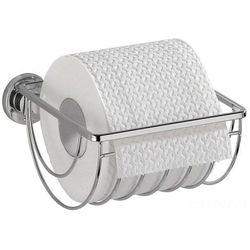 Uchwyt na papier toaletowy bovino, power-loc - stal nierdzewna, marki Wenko