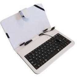 Etui ART + Klawiatura USB do tabletu 7 cali Biały