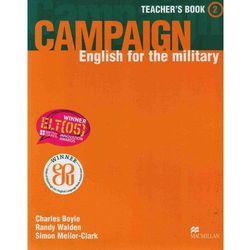 Campaign 2 Teacher's Book, książka w oprawie miękkej