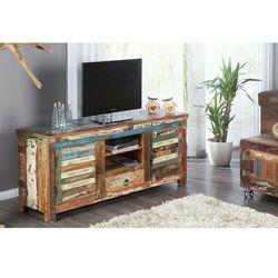 Sofa.pl Invicta szafka pod telewizor jakarta - 150 cm, drewno z recyklingu