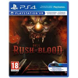 Gra Until Dawn Rush of Blood VR z kategorii: gry PS4