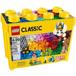 10698 kreatywne klocki  duże pudełko (large creative brick box) klocki lego classic marki Lego