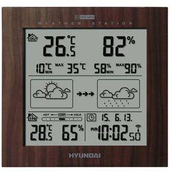 Hyundai Stacja pogody ws2244w brązowy