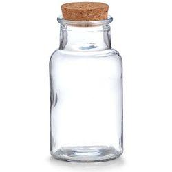 Zeller Szklany pojemnik na żywność, słoik dekoracyjny, słoje ozdobne, pojemniki kuchenne, słoiki ozdobne, pojemniki na przyprawy