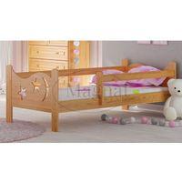 Łóżko drewniane dziecięce dora wyprodukowany przez Magnat - producent mebli drewnianych i materacy