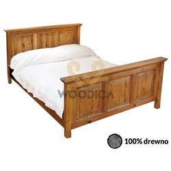 Łóżko hacienda ii 120x200 marki Woodica