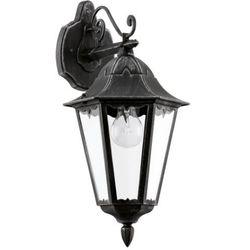 Zewnętrzna LAMPA ścienna NAVEDO 93456 Eglo klasyczna OPRAWA ogrodowa IP44 outdoor patyna czarny z kategorii Lampy ogrodowe