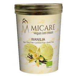 Lody o smaku waniliowym bio 500 ml - micare od producenta Mrożonki (lody micare)