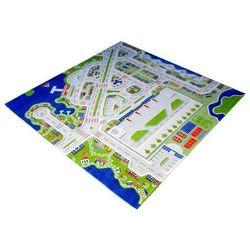 Dywan Miasto Portowe 3D 200 x 200 cm