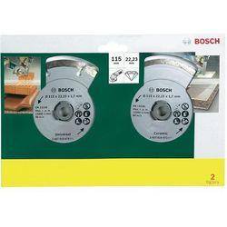 Tarcze diamentowe TS , 115 mm, 2 szt., marki Bosch do zakupu w Conrad.pl