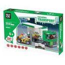 Transport ciężarówki Załadunek dostawczy 253 elementów Blocki
