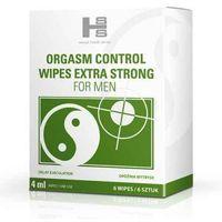 Orgasm Control – chusteczki wydłużające stosunek (6 szt.)
