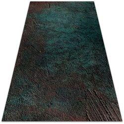 Dywanomat.pl Nowoczesny dywan tarasowy nowoczesny dywan tarasowy zielono brązowy beton