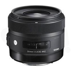 Sigma 30 mm F1.4 DC HSM A Nikon - produkt w magazynie - szybka wysyłka!, kup u jednego z partnerów