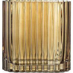 Bloomingville Wazon szklany brązowy 18 cm (5711173203970)