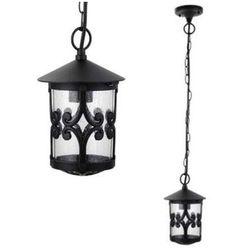 Ogrodowa lampa wisząca palma 8538  zewnętrzna oprawa metalowy zwis na taras ip23 outdoor czarny, marki Rabalux