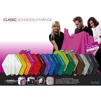 Pelerynka fryzjerska Profi Classic 17 kolorów - czarny z kategorii Urządzenia i akcesoria kosmetyczne