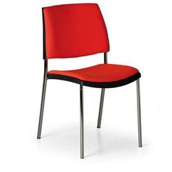 Krzesło konferencyjne Cube, pomarańczowe