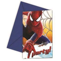 Zaproszenie urodzinowe Amazing Spiderman 2 - 1 szt.