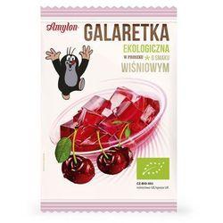: galaretka wiśniowa bio - 40 g wyprodukowany przez Amylon