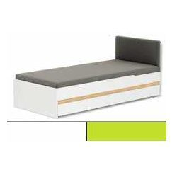 Tapczan Click 90cm x 200cm biało-zielony