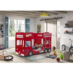Łóżko dla dziecka wóz strażacki - łóżko piętrowe marki Vipack