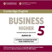 Cambridge English Business (BEC) 5 Higher CD do Podręcznika (9781107611184)