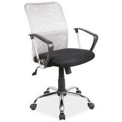 Krzesło biurowe obrotowe SIGNAL Q-078 - Szary, OBRQ078CS