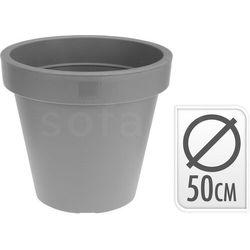 Donica 48xh43cm gładka okrągła marki Sofa.pl