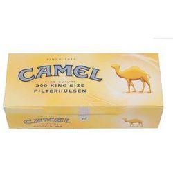 Gilzy Camel 200 szt z kategorii Akcesoria do wyrobów tytoniowych