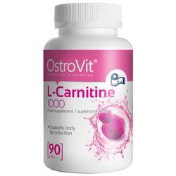 OSTROVIT L-Carnitine 1000 - 90tab z kategorii Redukcja tkanki tłuszczowej