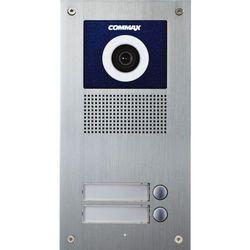 Commax Kamera 2-abonentowa z regulacją optyki i czytnikiem rfid drc-2uc/rfid