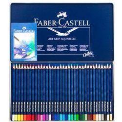 Kredki akwarelowe FABER-CASTELL Art Grip - 36 kolorów, towar z kategorii: Kredki akwarelowe