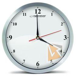 Esperanza zegar ścienny detriot biały (ehc009w) szybka dostawa! darmowy odbiór w 21 miastach! (5901299929742)
