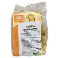 Chipsy bananowe kandyzowane BIO 150g bezglutenowe