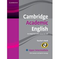 Cambridge Academic English Upper intermediate Teachers Book